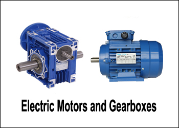 Electric Motors and Gearboxes